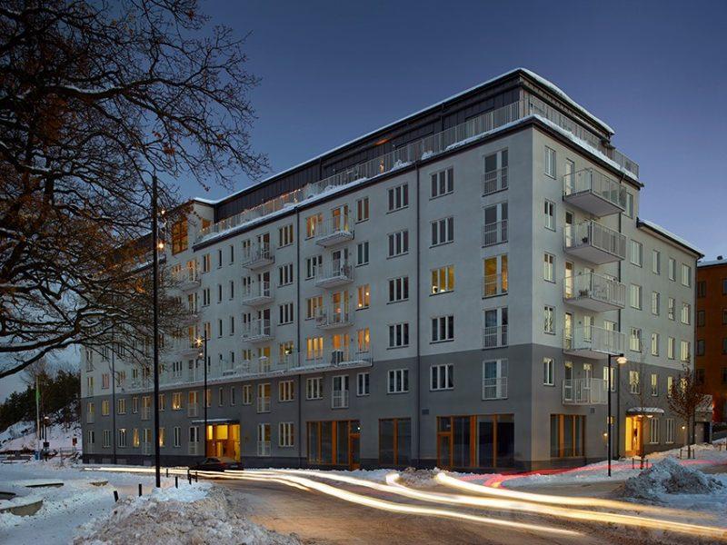 Brf Ektorget, Stockholm, Sweden – Residential building. Designing & construction