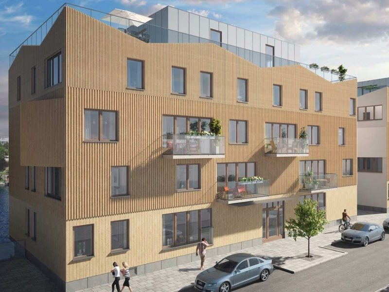 Sjöhusen, Stocholm, Sweden – Residential building