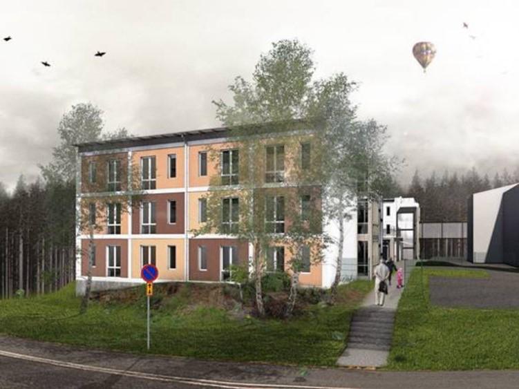 Krusmyntan Stockholm, Sweden – Residential building