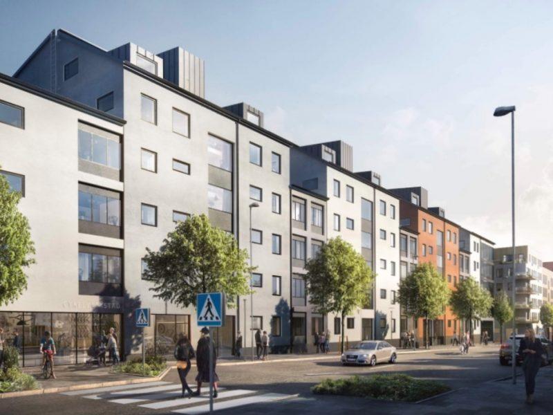 Dragonvägen, Stockholm, Sweden – Residential building