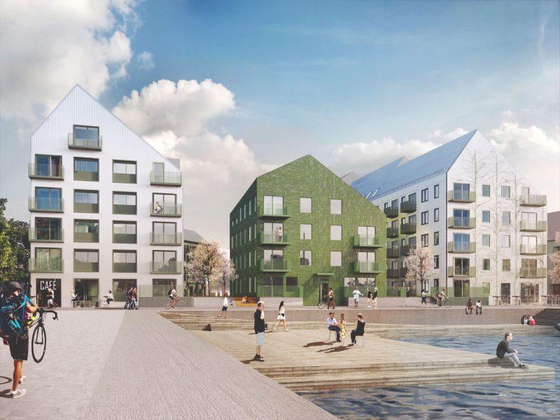 Neptun, Västerås, Sweden – Residential building