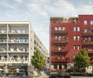 Barkarby SIX, Stockholm, Sweden – Residential building designing and construction