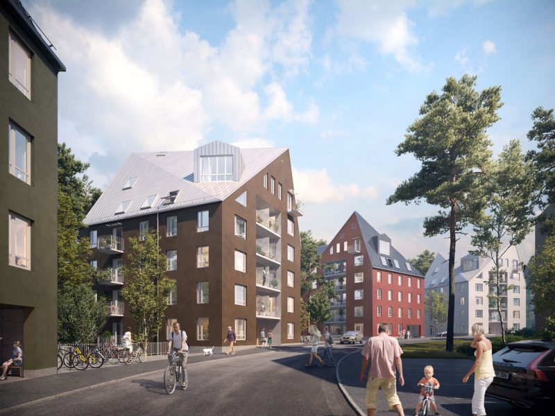 Bikarbonatet, Stockholm, Sweden – Residential building designing and construction