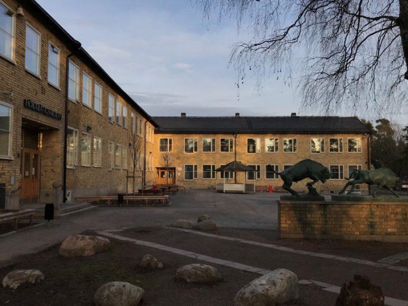 Hökarängsskolan, Stockholm, Sweden – School reconstruction