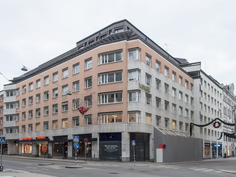 Skären 9, Stockholm, Sweden – Office building reconstruction