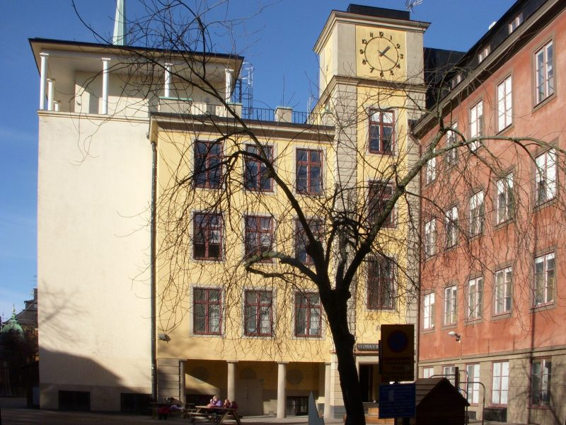 Storkyrkoskolan, Stockholm, Sweden – School reconstruction