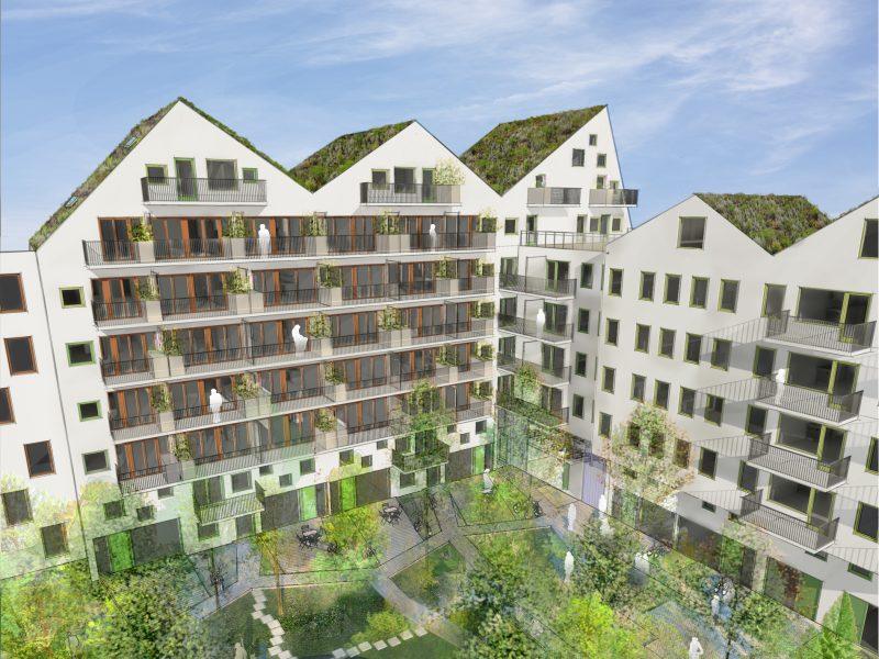 Cykelkungen, Uppsala, Sweden – Residential building designing