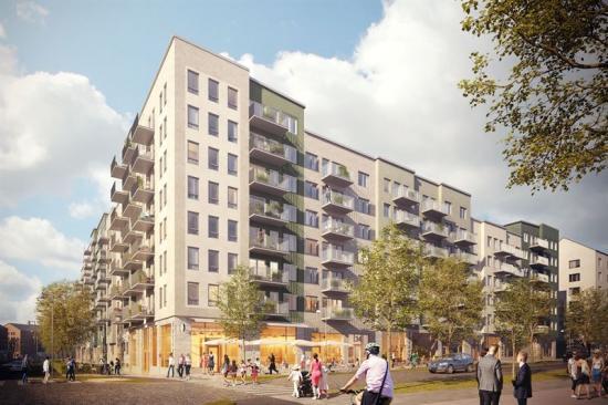 Brygghuset, Ursvik, Sundbyberg, Sweden – Residential building designing